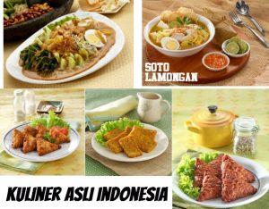 3 Kuliner Asli Indonesia