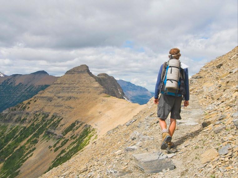 Hiking di Amerika