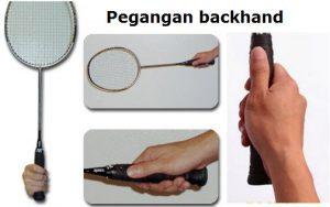 Posisi Tangan Pada Raket - Backhand Overhead