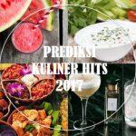 4 Makanan Trendi yang Hits di Tahun 2017