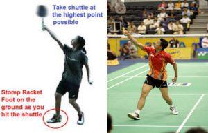 Teknik Backhand Overhead