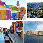 Indahnya Kota Warna Warni di Beberapa Negara