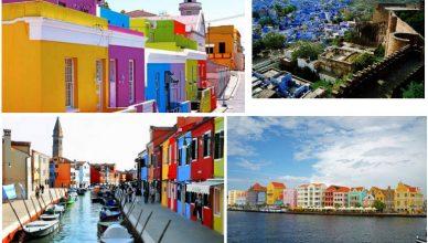Kota Warna Warni di Dunia