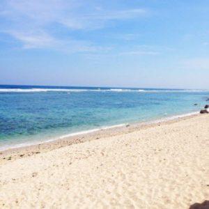 Pasir Putih di Pantai Gunung Payung