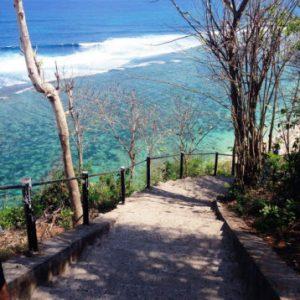 Tangga, Akses ke Pantai Gunung Payung