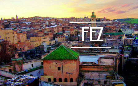 Kota Fez, Maroko