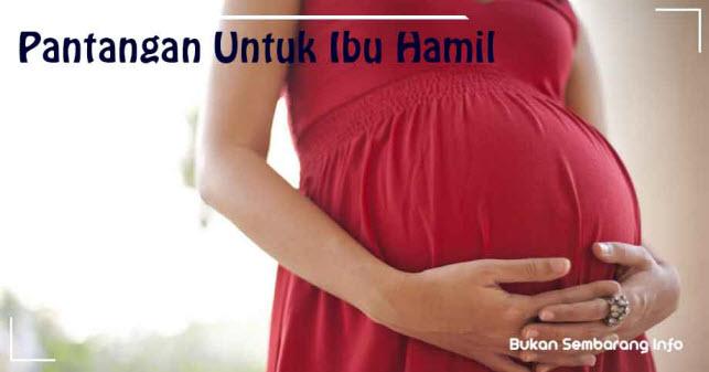 Pantangan untuk Ibu Hamil