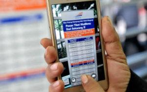 Beli Tiket Kereta Api Online Via Smartphone