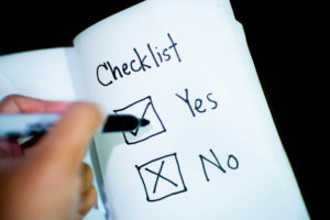 Buat sebuah Daftar Checklist