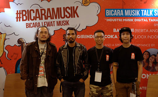 Launching Bicara Musik with Noid