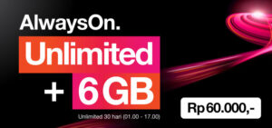 Paket Internet Unlimited 3 Indonesia