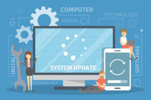 Update Software Website