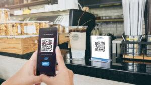 Sistem pembayaran dengan QR code atau scan